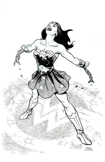 Wonder Woman by Steve Leiber.