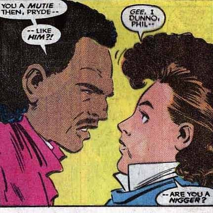 Uncanny X-Men #196, 1985, by Chris Claremont, John Romita, Jr. et. al.