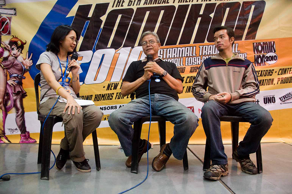 Syeri Baet interviews Jess Abrera and Manix Abrera.