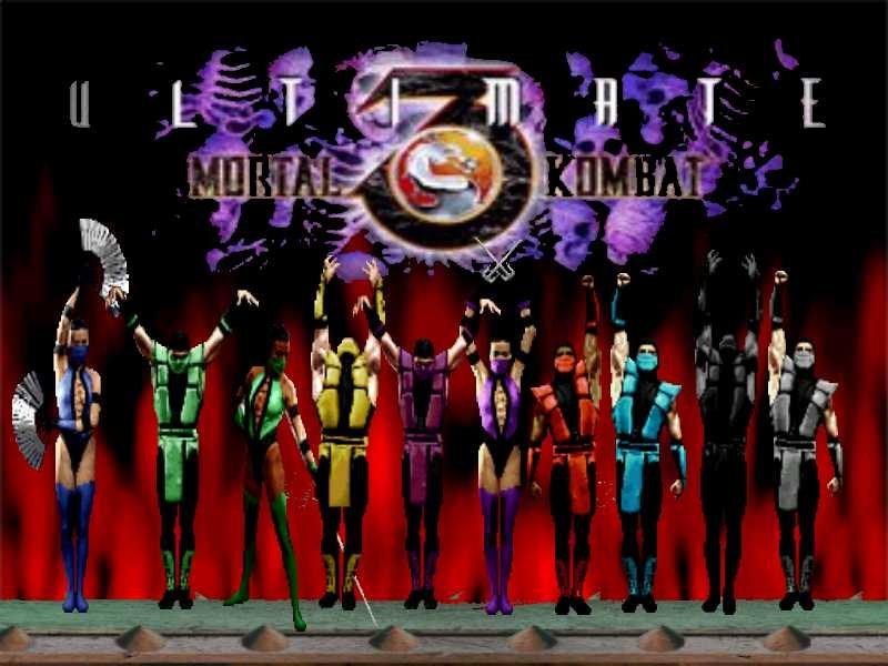 Zero Game Zone: Games I-Pad : Ultimate Mortal Kombat 3