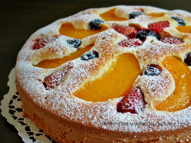 Layer Cake Fruit Rouge