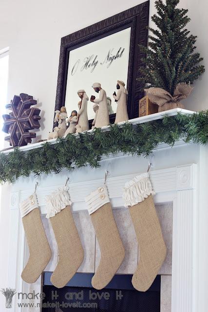 Sew a simple advent calendar…for christmas!