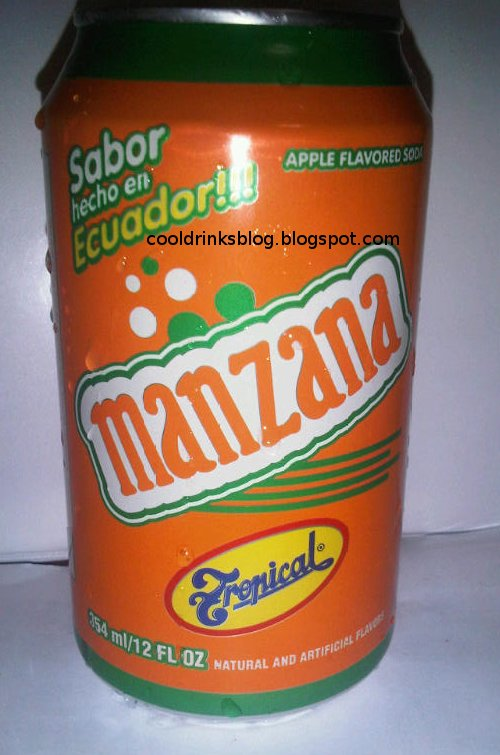 Cool Drinks From Crazy Places Tropicals Manzana Apple Soda