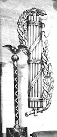 Close Up of a Roman Fascist Symbol in the US House of Representatives chamber, United States Capitol