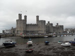 Caernarfon Castle, birthplace of Edward II