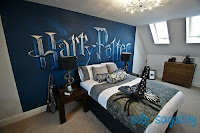 Blue Harry Potter Bedroom