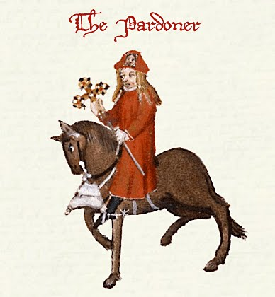 The irony in the pardoners tale