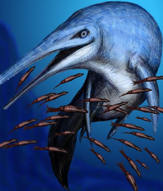 Art Evolved Life' Time Capsule Ichthyosaur