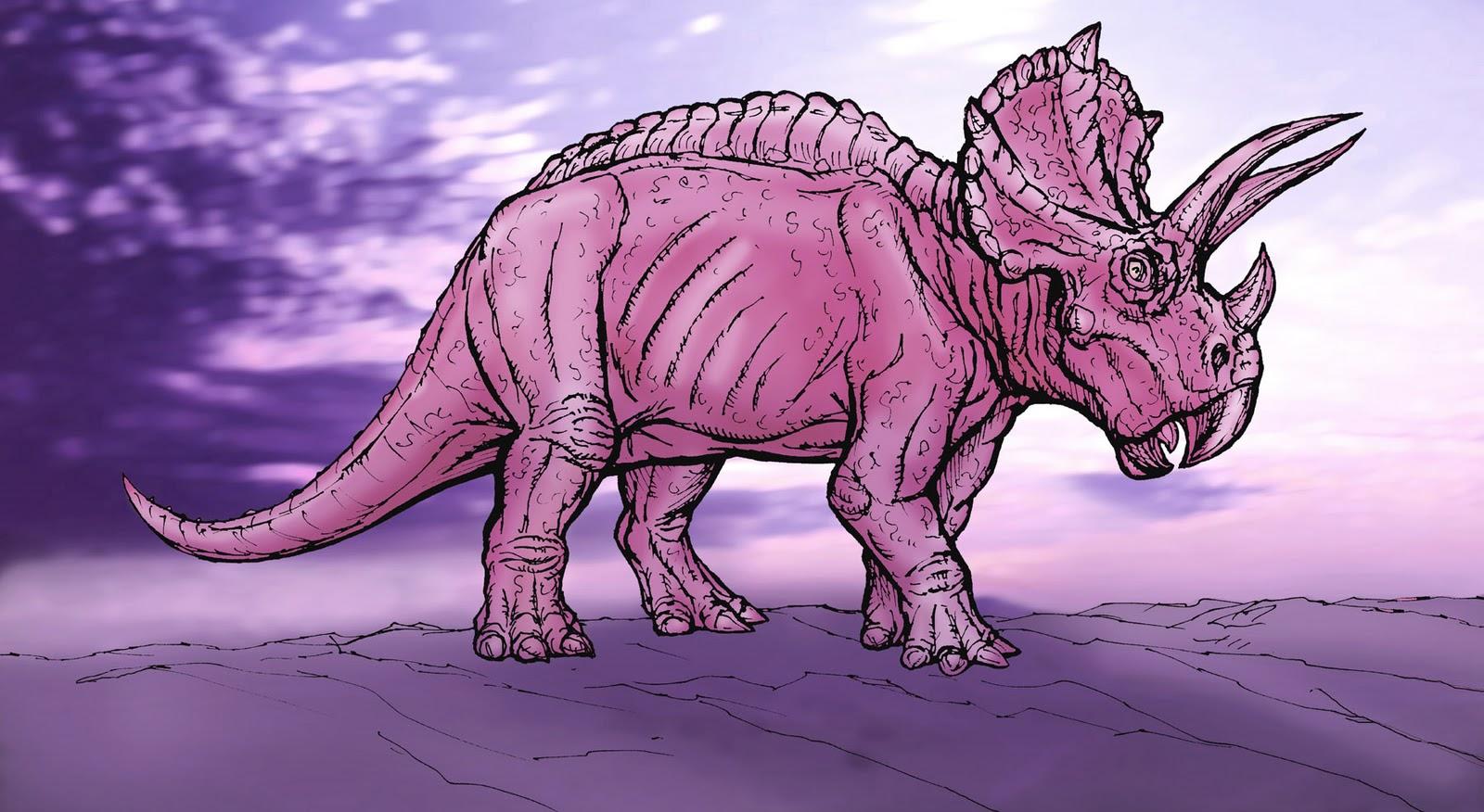 Art Evolved Life S Time Capsule Pink Dinosaur 33