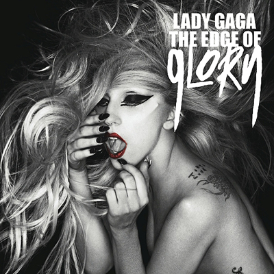 Lady Gaga - The edge of glory | Single art