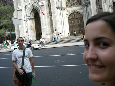 Saint Patrick Cathedral in New York