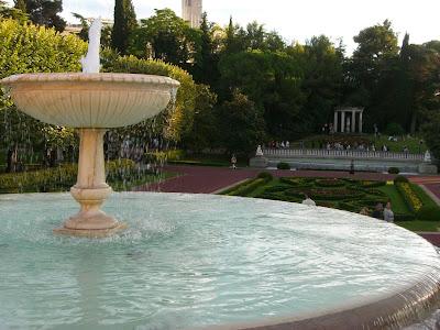 Joan Maragall gardens in Montjuic
