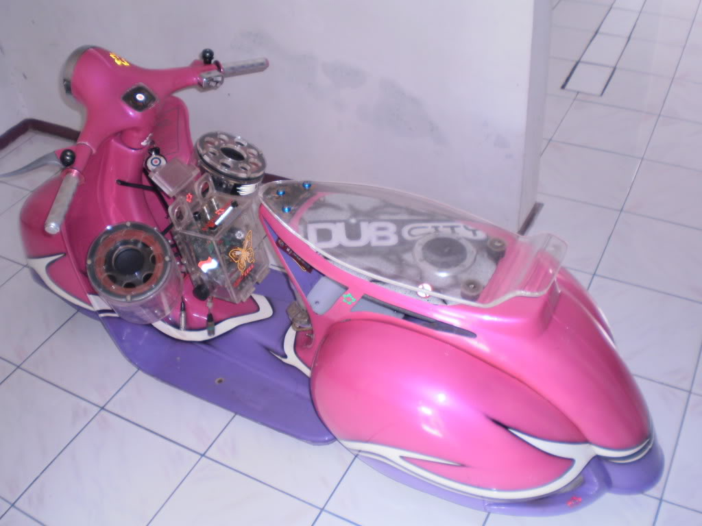 Vespa Modification 3
