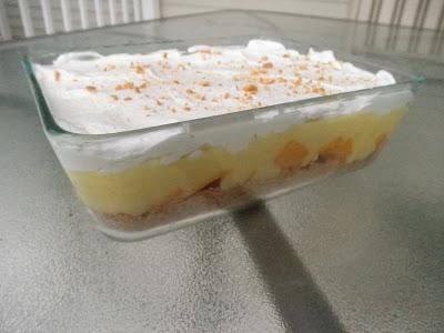 mango, vanilla pudding, jello, whipping cream, graham cracker crust, delicious mango dessert, quick and easy