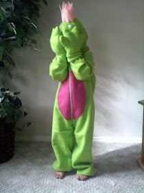 Princess and the Frog Costume made from Fleece