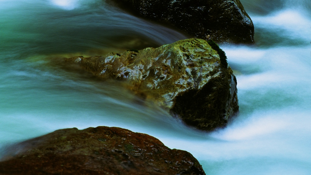 There Is A Story In Rock That Flows Water Zen