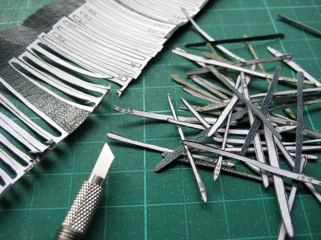 full leather binding - work in progress by Kaija Rantakari / paperiaarre.com