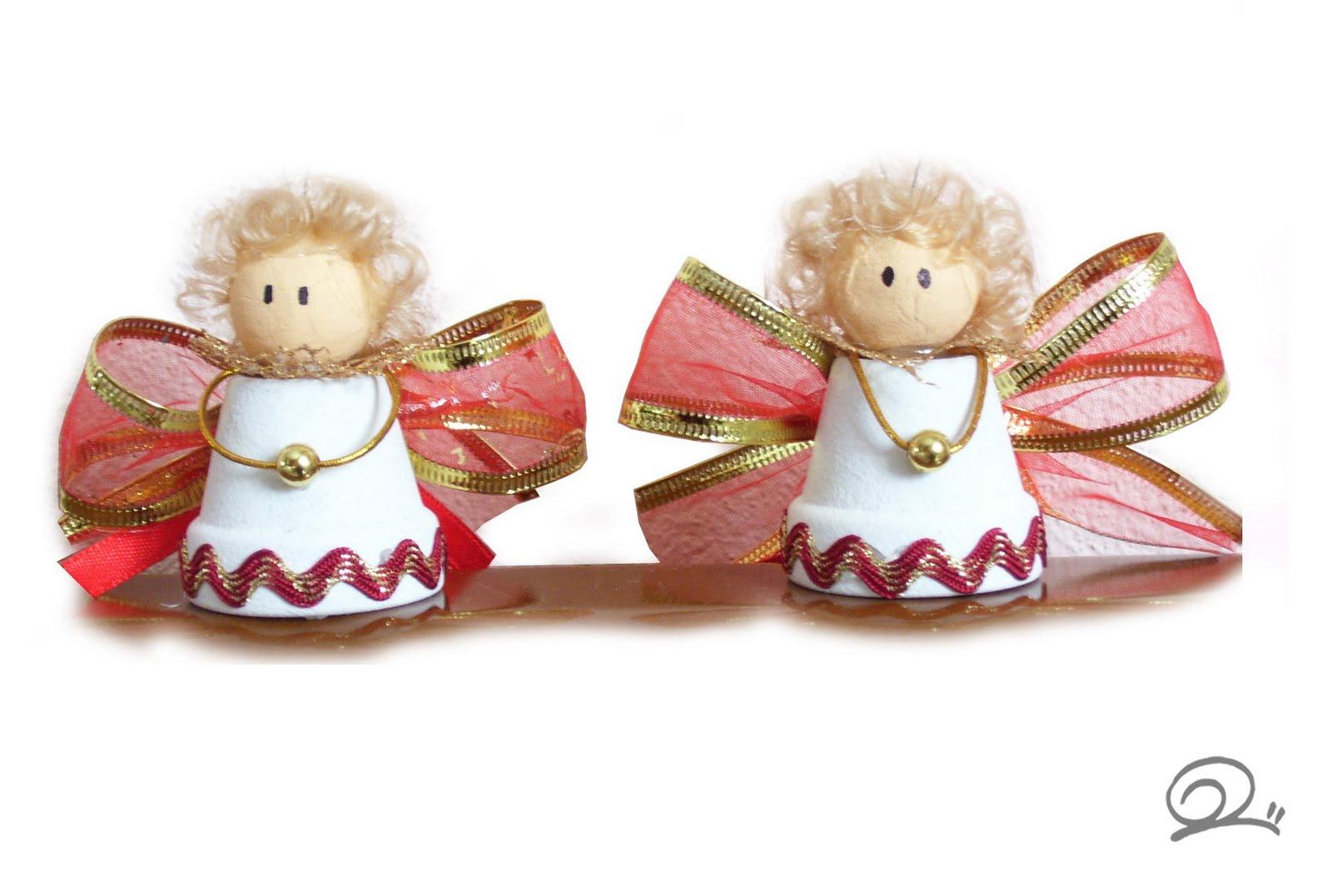 Foto Angioletti Di Natale.Babbaluci Style Angioletti Di Natale