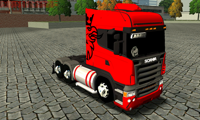 scania highline para haulin
