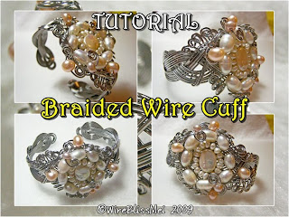 TUTORIAL- Braided Wire Cuff (Meet Me Halfway)