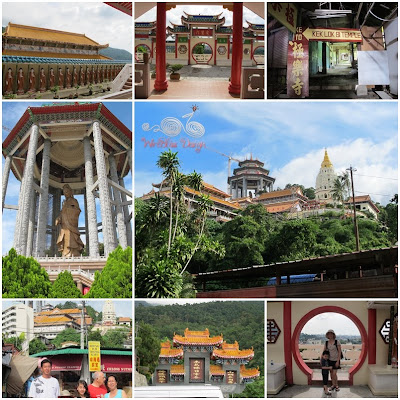 Kek Lok Si Temple, the largest Buddhist Temple in South East Asia