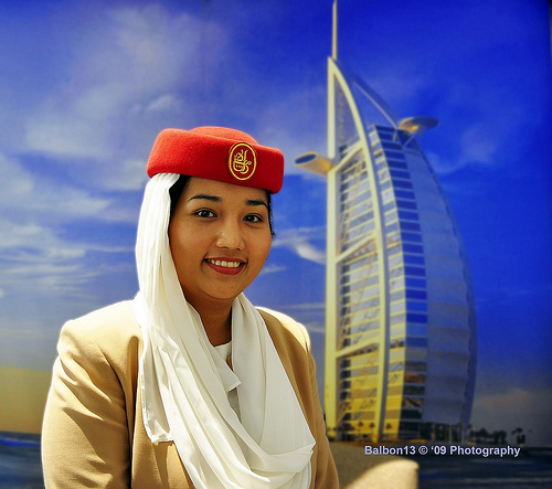 Dubai Air Line Hostess Girl  Fashion In Dubai-3906