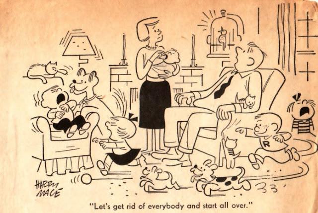 mike lynch cartoons 1950s gag cartoons