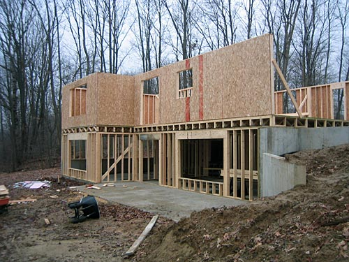 Build or remodel your own house walkout basement walls for Walkout basement cost