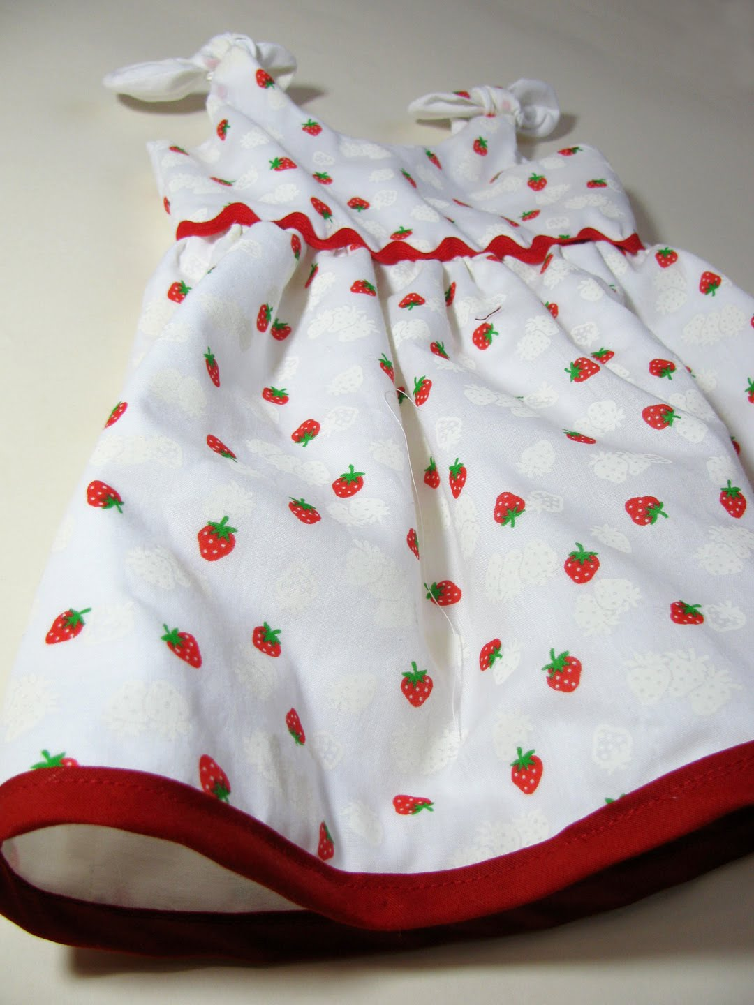Cactus And Olive Vintage Print Baby Dress
