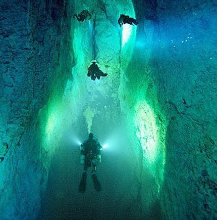 Taste Of Grand Bahama Blue Hole Caverns A Mystery Of The Deep