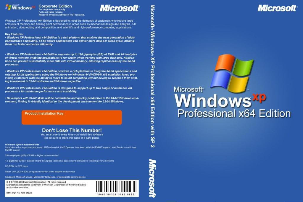 Windows Xp 64bit