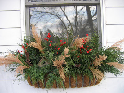 Greenbow: Winter Window Boxes and Planters