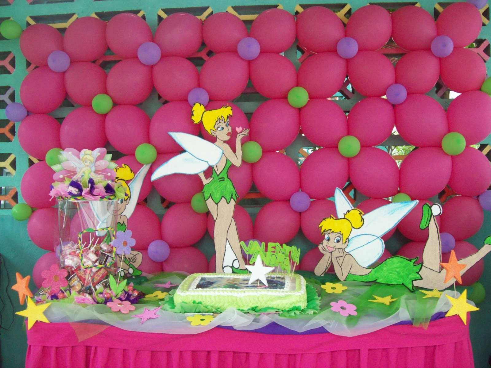 100 Fiestas y Algo Ms Decoracin Fiesta Campanita