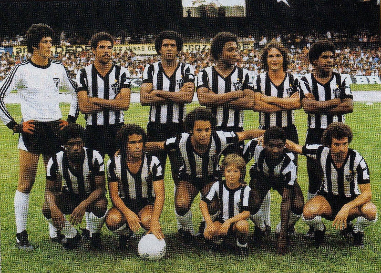 Futebol Em Fotos Atl U00e9tico Mineiro Campe U00e3o Mineiro 1978