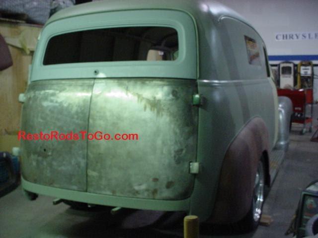1948 Chevrolet Suburban Panel Rear Door Tailgate   Resto ...