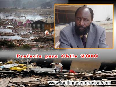 Terremoto profecía Chile