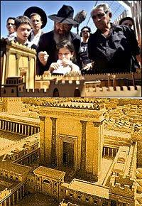 Anhelan terminar templo en Israel