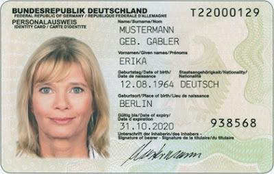 Alemania RFID tarjeta