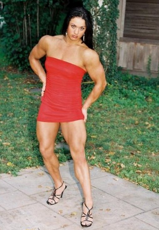 Muscular Women's Dressed: Hayley Mcneff.