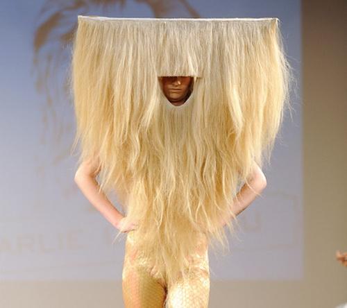 somethin odd strange and weird hairstyles