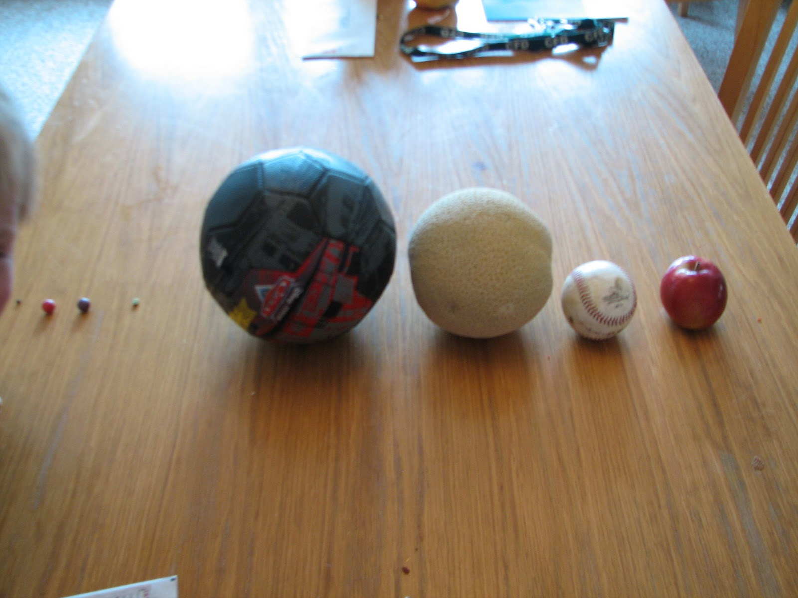 planets scale size model -#main