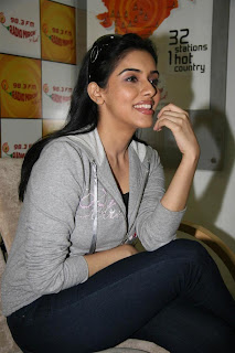 Asin At Radio Mirchi Station Exclusive Photo Gallery