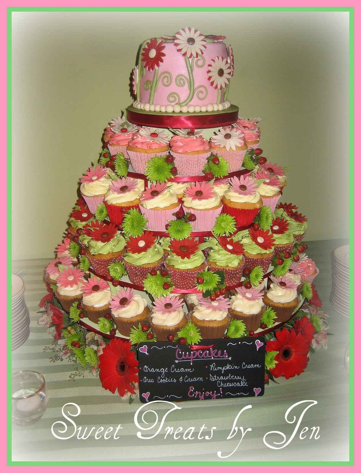 Sweets Treats By Jen Cupcake Towers