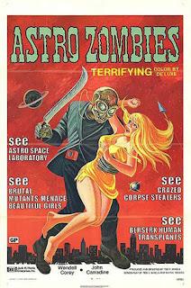 Astro zombies un coctel de Zombies, Mad Doctors y Extraterrestres