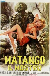 Poster de Matango Il Mostro de Ishirô Honda.