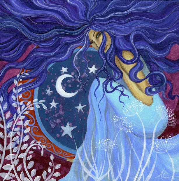 Earth Angels Art. Art And Illustrations Amanda Clark 2010