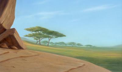 Style Animasi The Lion King Part Two