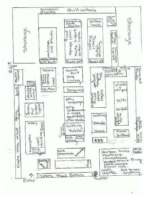 City-Wide Couture of Atlanta: Gail K Store Layout (subject