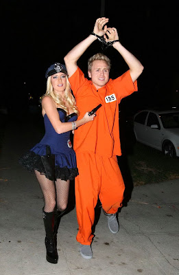 I Love to Expose: Heidi Montag Slutty Police Officer for