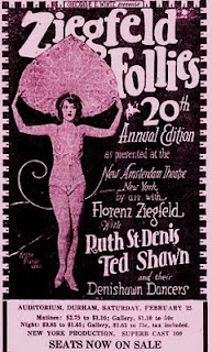 1928 Ziegfeld ad - click for larger image